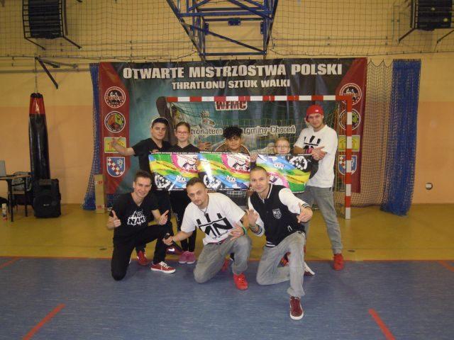 Grupa taneczna No Name pokazała kilka układów tanecznych młodym widzom
