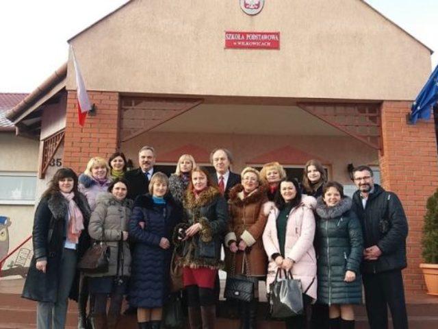 Wizyta pedagogów z Ukrainy