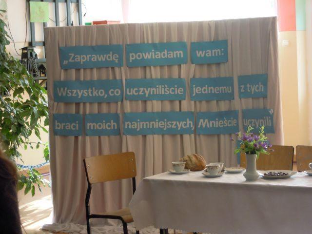Rekolekcje wielkopostne w Szkole Podstawowej w Wilkowicach