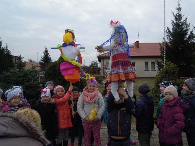Dzień Wiosny w Szkole Podstawowej w Wilkowicach