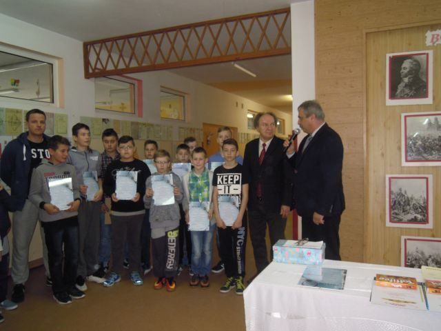 Apel podsumowujący osiągnięcia uczniów ze Szkoły Podstawowej w Wilkowicach