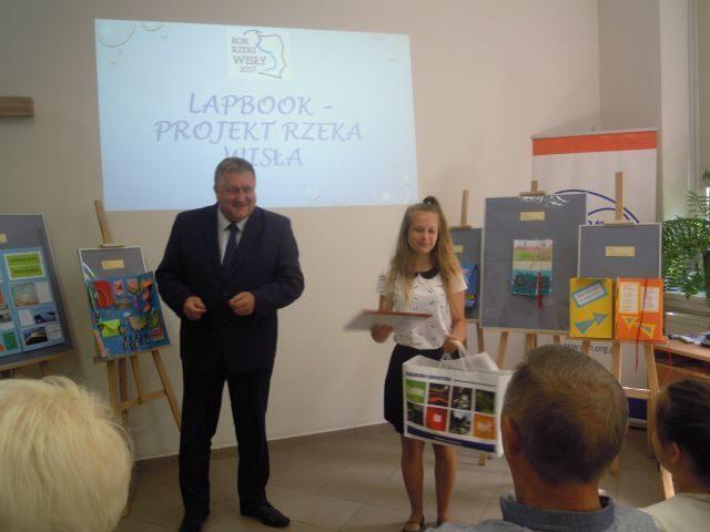 """Ogólnopolski Konkurs """"Lapbook – Projekt Rzeka Wisła""""."""