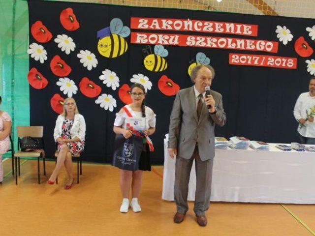 Zakończenie roku szkolnego w Szkole Podstawowej w Wilkowicach