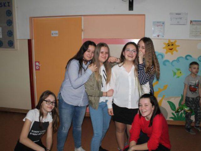 Zabawa karnawałowo – walentynkowa w naszej szkole!