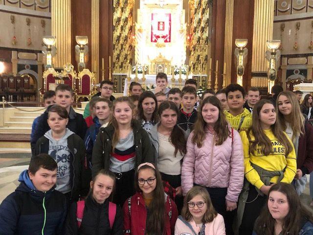 Pielgrzymka młodzieży do Lichenia
